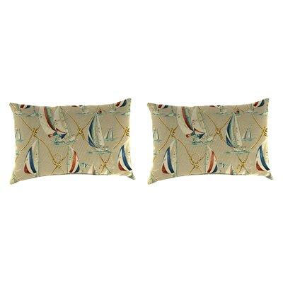 Cuddy Accessory Toss Indoor/Outdoor Lumbar Pillow