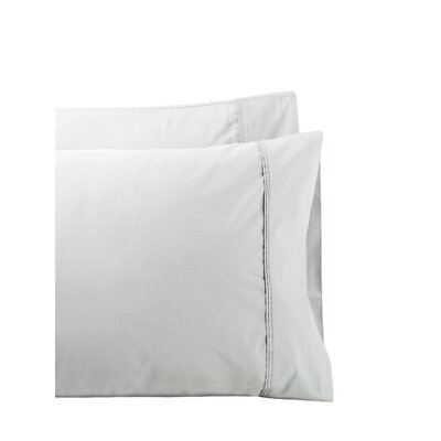 Cournoyer Pleat Hem 300 Thread Count Percale Sheet Set Size: Twin