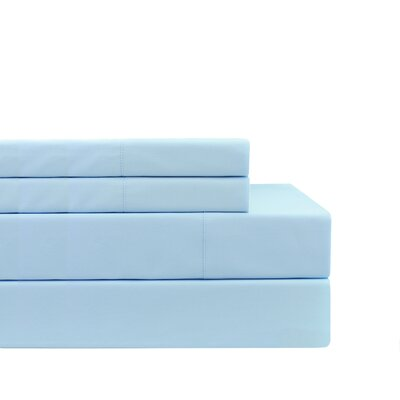 Monkton Combe Pillow Case Color: Bay Blue