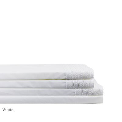 Pirtle 300 Thread Count Percale Sheet Set Size: Twin