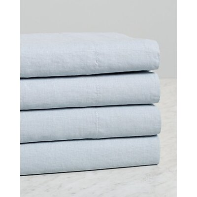 Dahlstrom Self Hem 4 Piece Sheet Set Size: Queen, Color: Gray