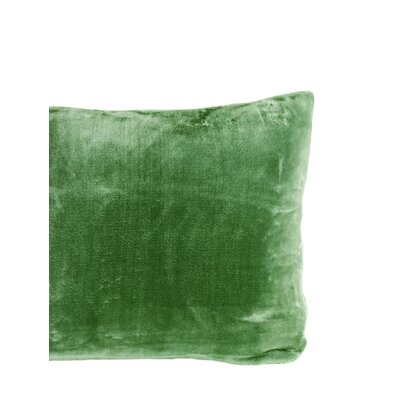 Laufer Velvet Sham Color: Kale
