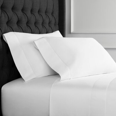Hemstitch Sheet Set Size: King, Color: White