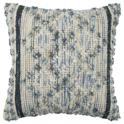 Kropp Decorative Throw Pillow Color: Blue