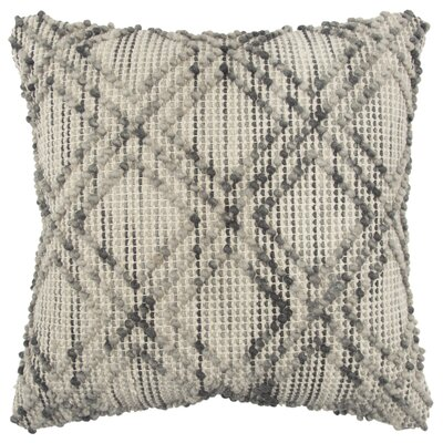 Kruger Decorative Throw Pillow Color: Gray