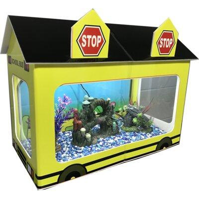 10 Gallon School Bus Aquarium Tank