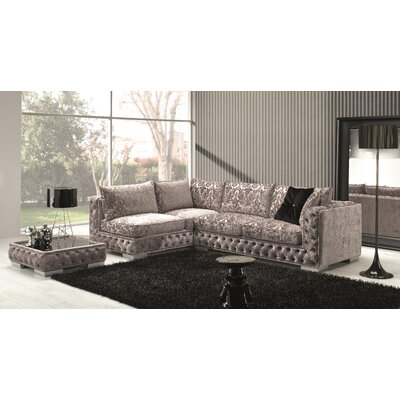 Dunlin Fabric Sectional Orientation: Left Hand Facing