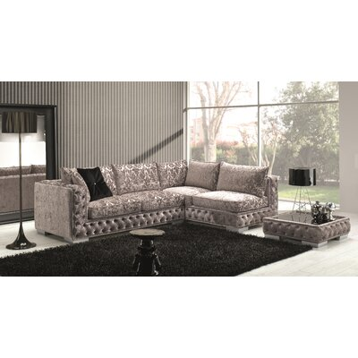 Dunlin Fabric Sectional Orientation: Right Hand Facing