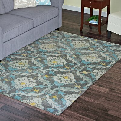 Somerset Gray Area Rug Rug Size: Rectangle 710 x112
