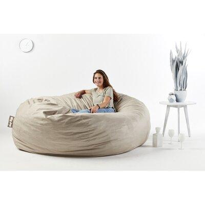 Big Joe Bean Bag Sofa Upholstery: Oat