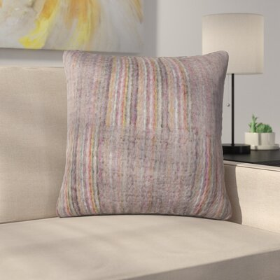 Tessier Square Throw Pillow Color: Amethyst