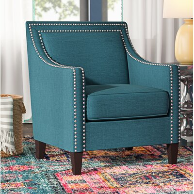 Turberville Armchair Upholstery: Teal