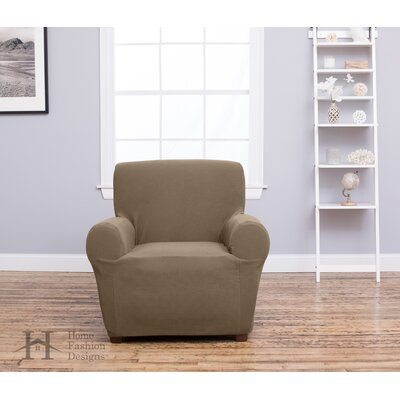 Box Cushion Recliner Slipcover Upholstery: Toffee