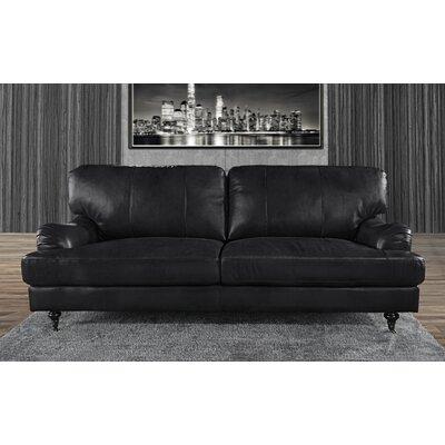Westerlo Classic Sofa Upholstery: Black