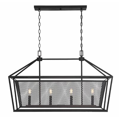 Wydra 4-Light Kitchen Island Pendant