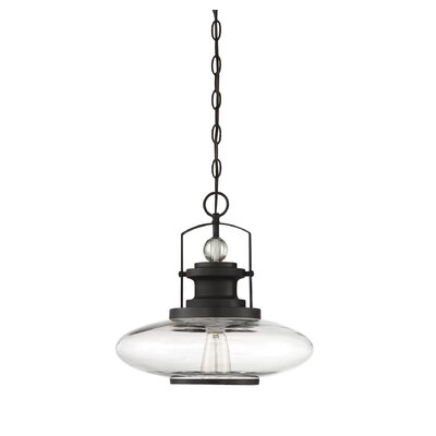 Yelton 1-Light Mini Pendant Finish: English Bronze