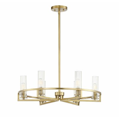 Hempel 6-Light LED Candle-Style Chandelier