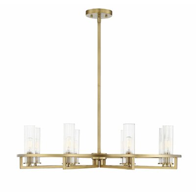 Hempel 8-Light LED Candle-Style Chandelier