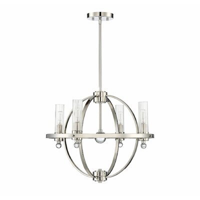 Madrigal 4-Light LED Candle-Style Chandelier