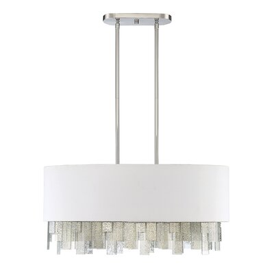 Melrose 6-Light Drum Pendant