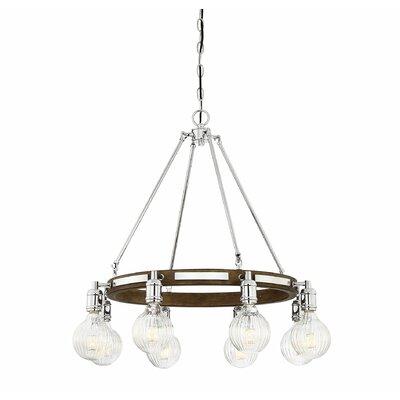 Wychwood 8-Light LED Candle-Style Chandelier