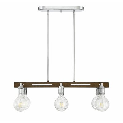 Wychwood 6-Light LED Kitchen Island Pendant