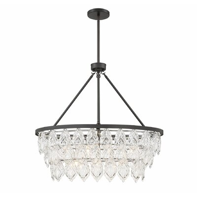 Wyche 7-Light LED Crystal Chandelier