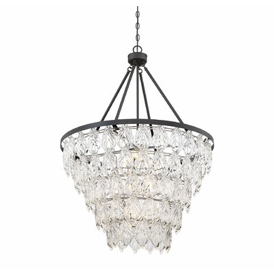 Wyche 7-Light Crystal Pendant