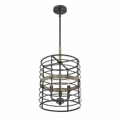 Grube 3-Light Drum Pendant