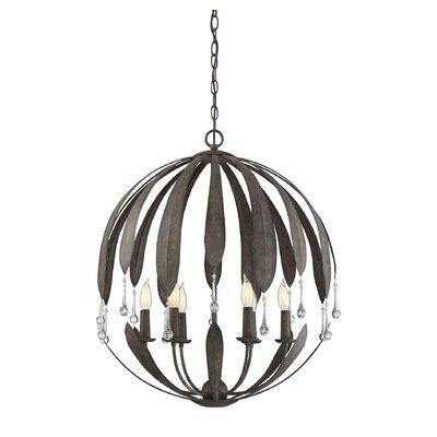 Wyant 6-Light Globe Pendant
