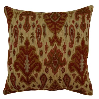 Sherpa Throw Pillow Color: Ruby