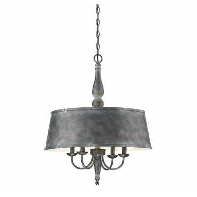 Wurth 4-Light LED Candle-Style Chandelier