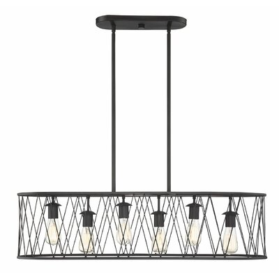 Wunsch 6-Light Kitchen Island Pendant