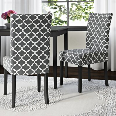 Greenbrier Valley Side Chair Upholstery: Gray