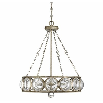 Perin 5-Light LED Chandelier