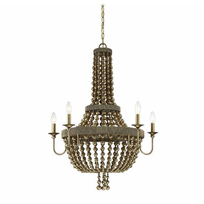 Pericles 5-Light LED Candle-Style Chandelier