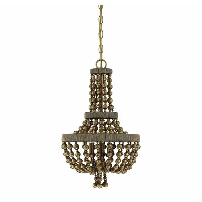 Pericles 3-Light LED Candle-Style Chandelier