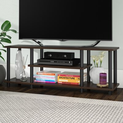 Colleen 43.8 TV Stand Finish: Dark Brown/Black