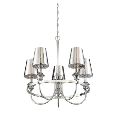 Mickle 5-Light LED Candle-Style Chandelier