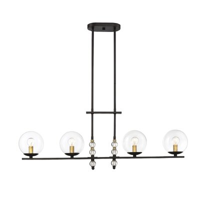 Hargraves 4-Light Kitchen Island Pendant