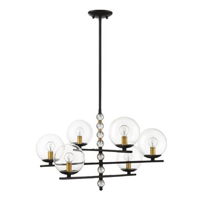 Hargraves 6-Light LED Candle-Style Chandelier