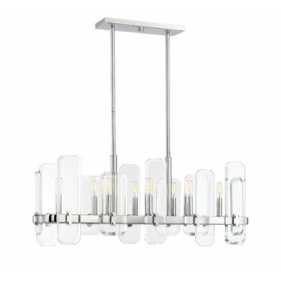 Hornback 8-Light LED Kitchen Island Pendant