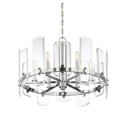 Hornback 6-Light LED Candle-Style Chandelier