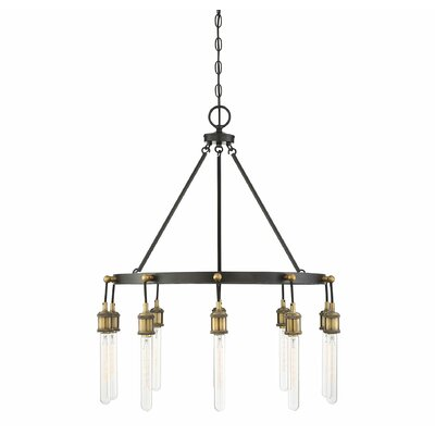 Wuest 10-Light LED Chandelier