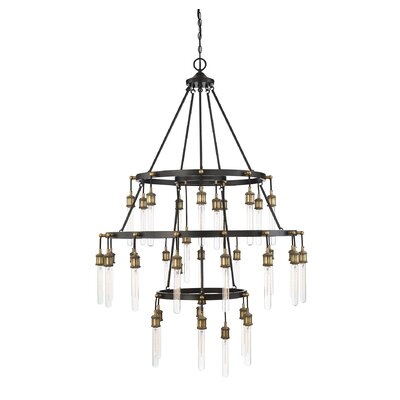 Wuest 35-Light LED Chandelier