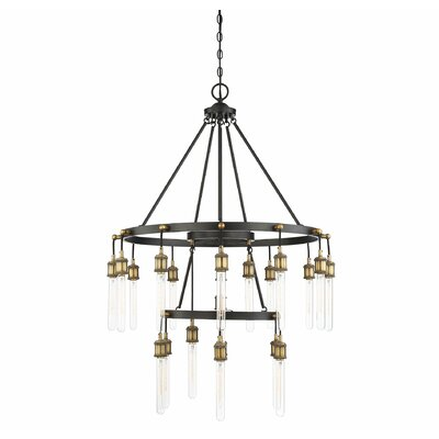 Wuest 21-Light LED Chandelier