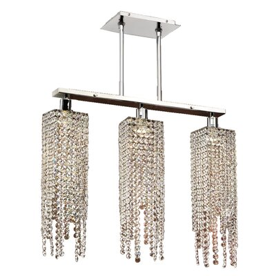 Knipe 3-Light Kitchen Island Pendant