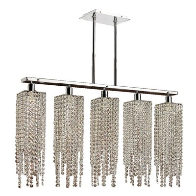 Knopf 5-Light Kitchen Island Pendant