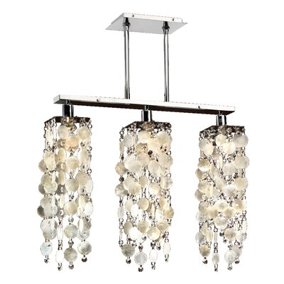 Chapple 3-Light Kitchen Island Pendant
