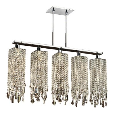 Knowlton 5-Light Kitchen Island Pendant